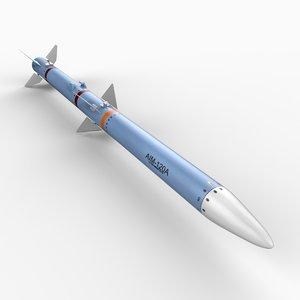 obj aim-120 amraam air missile