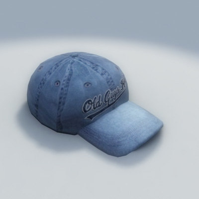 3d baseball cap