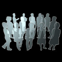 3d people architectural