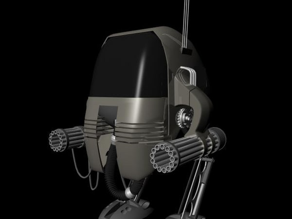 bi-pedal robot mech ma free