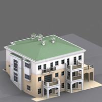 triplex house model