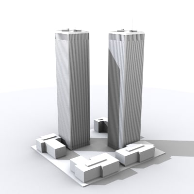 world trade tower 3d 3ds