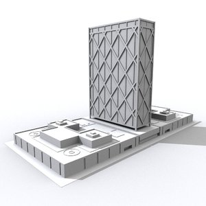 3dsmax alcoa building