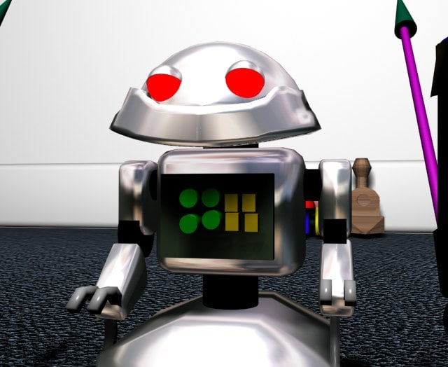 3ds toy robot