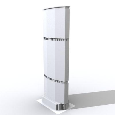 panam building 3d model
