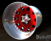 3d wheels centerline convo rims model