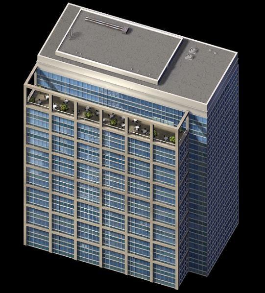 summit building b 3d model