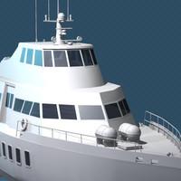 maya hydrofoil boat