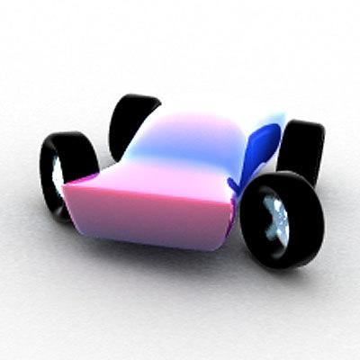 lightwave toy car toon