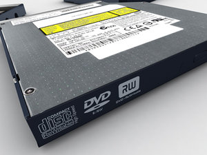 max notebook dvd drive