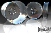 3d model of drag pack wheel centerline auto