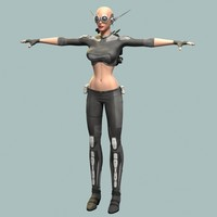3d sci fi model