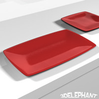 3ds max plate square