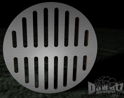3d grates drainage
