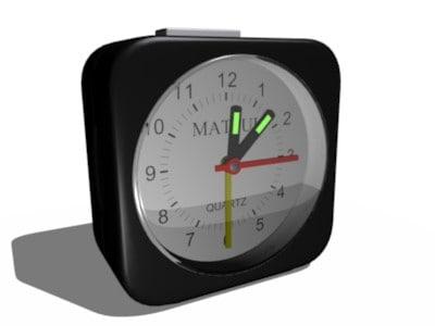 travel alarm blend free