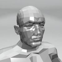 maya man male body