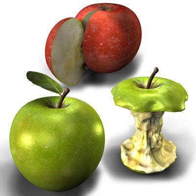 apple - 3d model