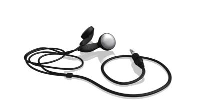 fsc earphones 3d model