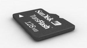 data storage card 3d max