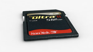 data storage card max