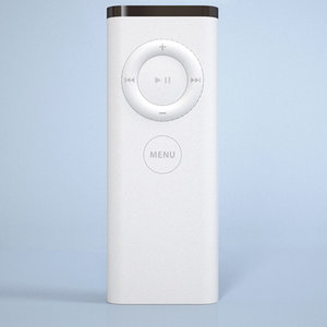 3d model apple remote