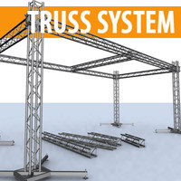 Truss system 4 pipes