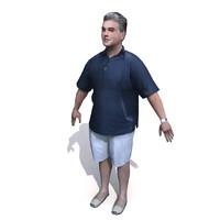 3d model human character