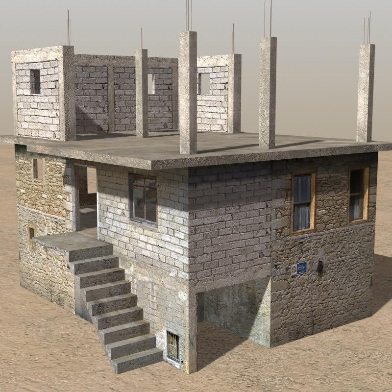 arab houses max