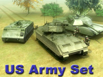 infantry vehicle military tank 3d max