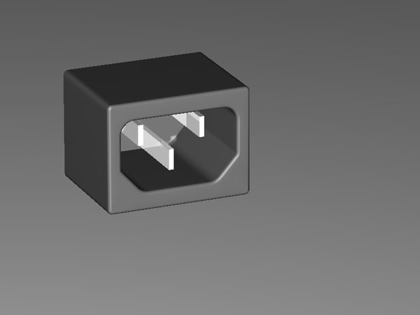 3ds max connector jack