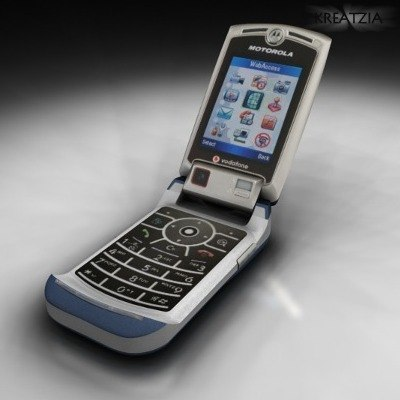v3x cellphone motorola project 3d model
