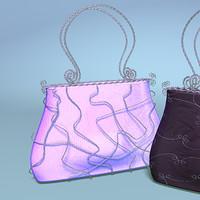 handbag wire 3d model