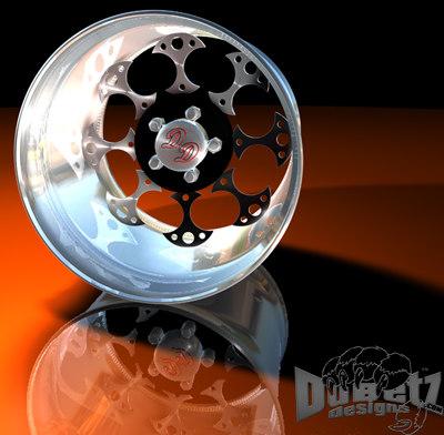 wheels 2 rims dd c4d
