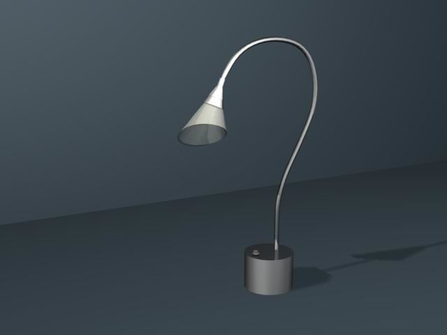 maya lamp light