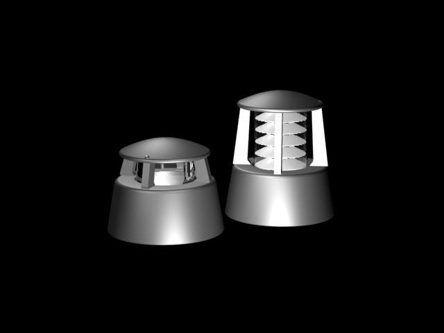3d model lamp light