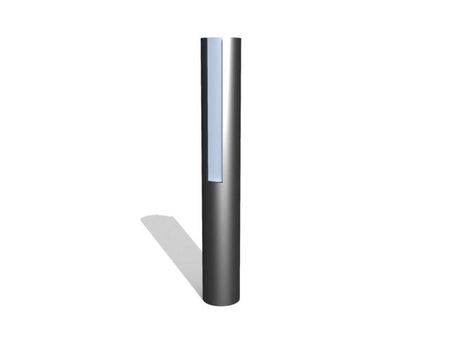 3d lamp light model