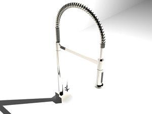 3d model hansgrohe axor starck sink