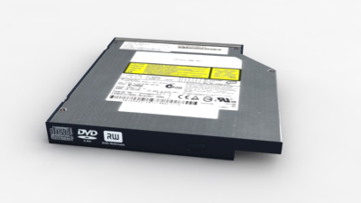 notebook drive battery package 3d max