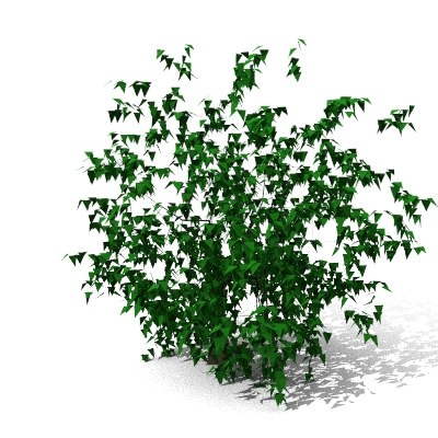 tree plants dxf