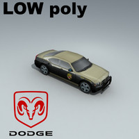 dodge charger meryland 3d 3ds