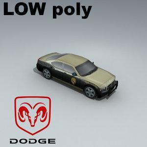 dodge charger meryland 3d 3ds