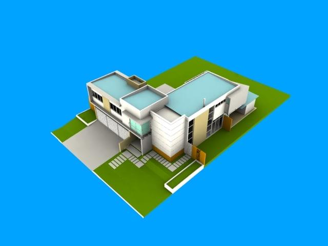 houses 3d model