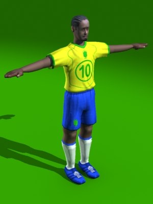soccer player max free