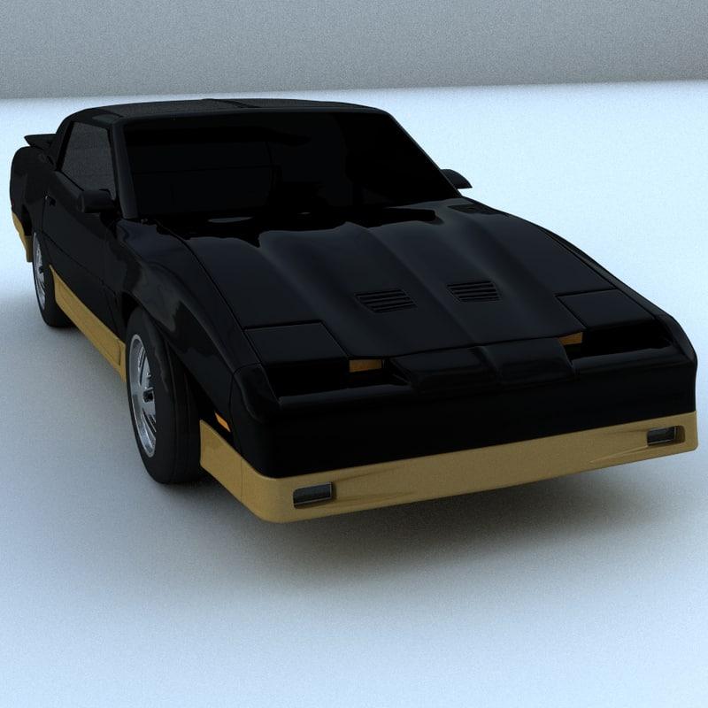 trans car 3d model