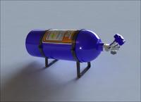 3d nitrous tank nos model