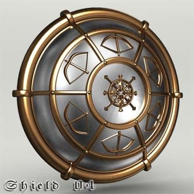 shield 04 3d model