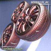 wheel 01 3d 3ds