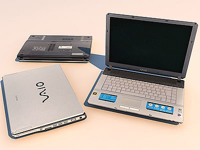 3ds max sony notebook