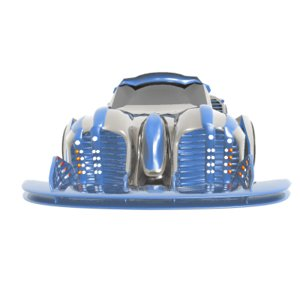 car sport future 3d model