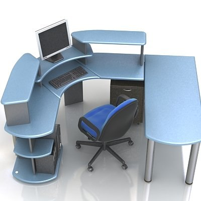 maya workstation chair desk
